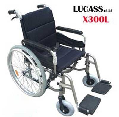 Xe lăn hợp kim nhôm Lucass X300L (X-300L)