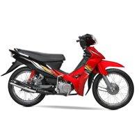 Xe máy 50cc Sirius Halim vành nan Phanh Cơ