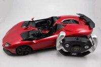 Xe mô hình Lamborghini Aventador J Red 1:14 Rastar
