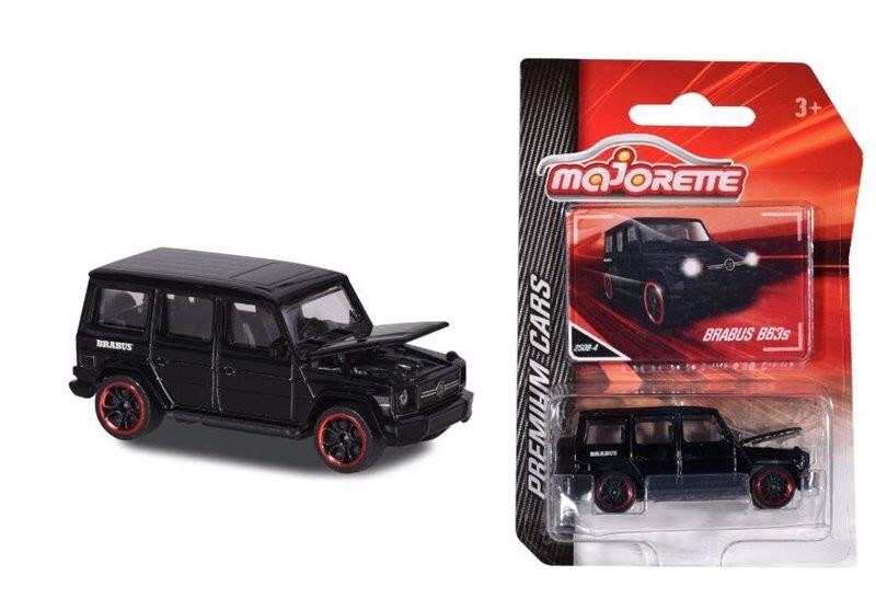 Xe mô hình Majorette Black Premium Brabus 212053052051
