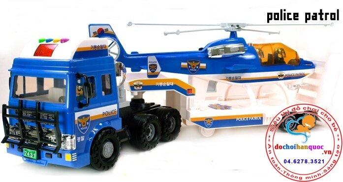 Xe tải vận chuyển trực thăng Daesung Toys DS968