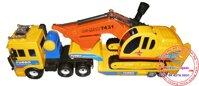 Xe tải vận chuyển xe múc đất Daesung Toys DS919