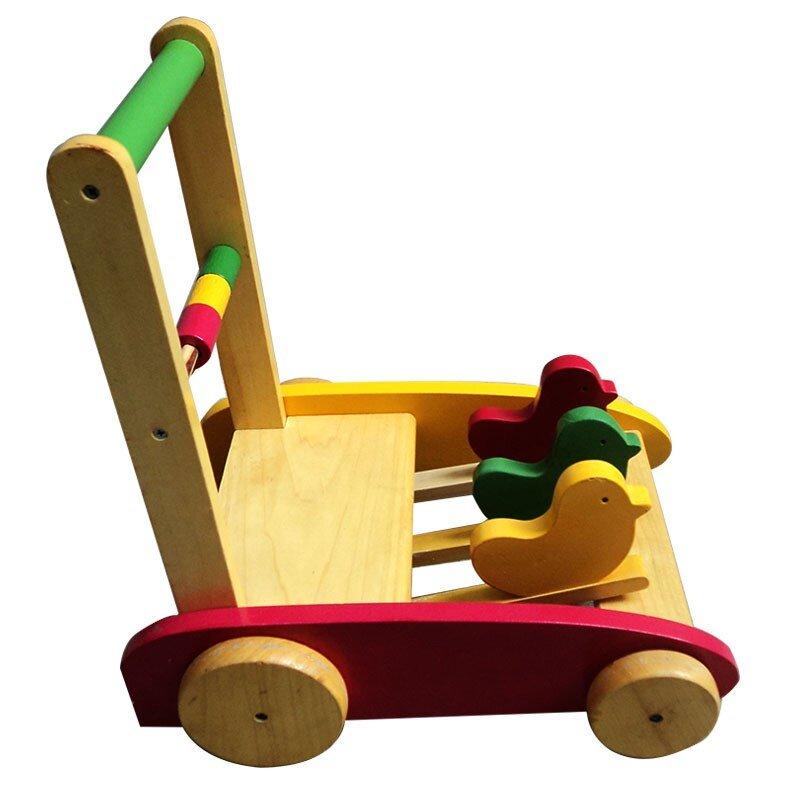 Xe tập đi bằng gỗ loại 2