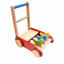 Xe tập đi bằng gỗ ô tô Etic C410B4