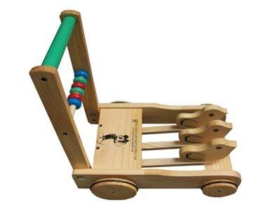 Xe tập đi gỗ con gà mộc