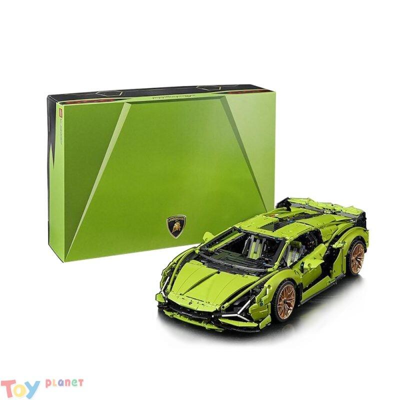 Xếp Hình Lamborghini Sián FKP 37 King 180169 – 3728 chi tiết