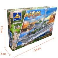 Xếp hình lego tàu hải quân 84005