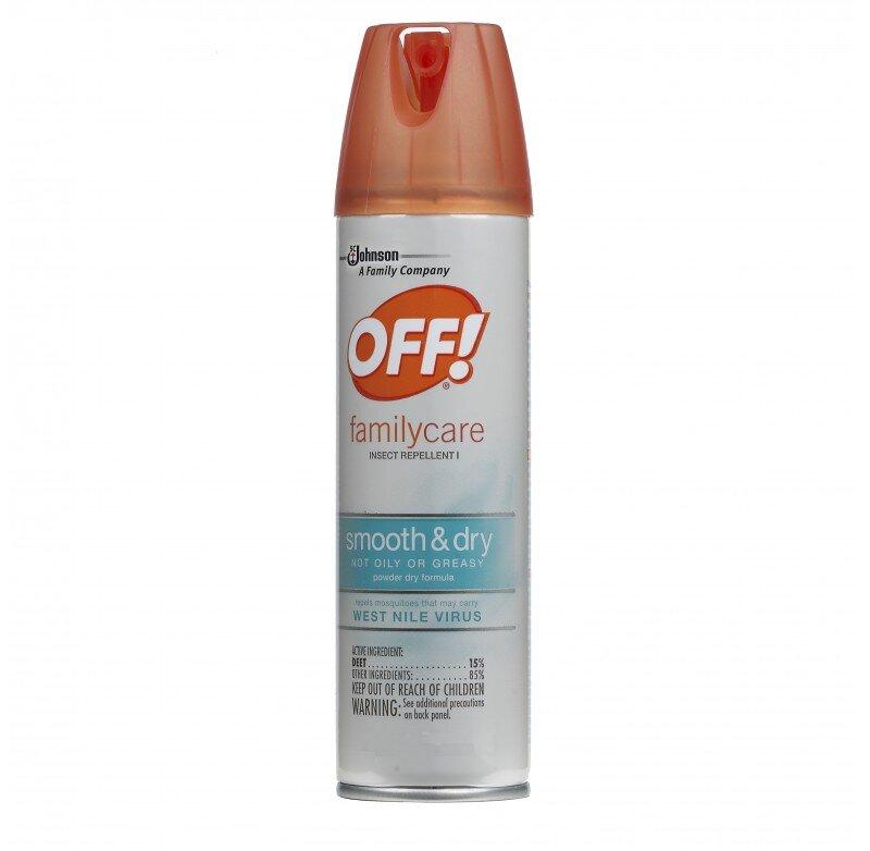 Xịt chống côn trùng OFF Family Care 170g