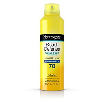 Xịt chống nắng Neutrogena Beach Defense Spray Sunscreen Broad Spectrum SPF 70 184g