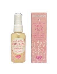 Xịt khoáng khử mùi cho phụ nữ Whamisa Organic Flowers & Fruits Feminine mist 60ml