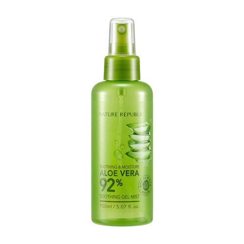 Xịt Khoáng Lô Hội Nature Republic Soothing & Moisture Aloe Vera 92%