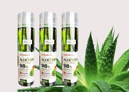 Xịt khoáng lô hội nha đam Aloe Vera Soothing Mist 98% 118ml