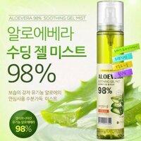 Xịt khoáng Nature Aloe Vera Soothing Mist 115ml