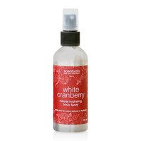 Xịt khoáng toàn thân hương việt quất Scentuals White Cranberry Natural Hydrating Body Spray 100ml