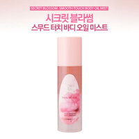 Xịt khoáng toàn thân Secret Blossom Smooth Touch body oil mist -The Face Shop