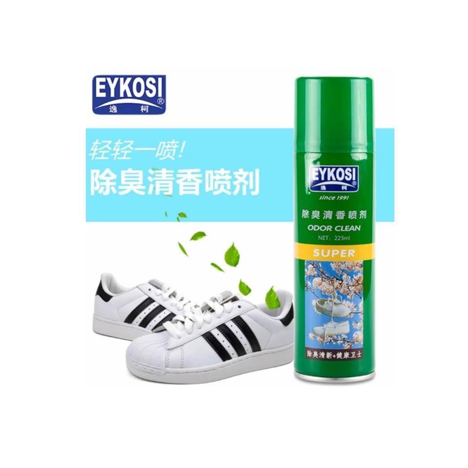 Xịt khử mùi lưu thơm giày Eykosi Odor Clean – 225ml