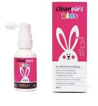 Xịt tan ráy tai Clean ears Kids 30ml