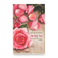 Mặt nạ dưỡng da chiết xuất hoa hồng Nature Republic Real Nature Rose Mask Sheet