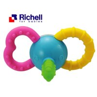 Xúc xắc gặm nướu voi con Richell - màu 49570, 93755