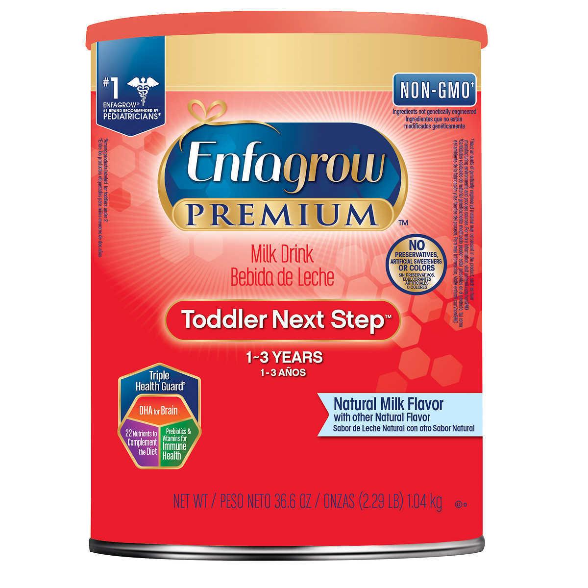 Sữa bột Enfagrow Premium Toddler Next Step - 1.04kg, 1 - 3 tuổi