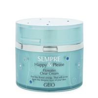Kem dưỡng da trị mụn Geo Sempre H&P Flowater Clear Cream 50g