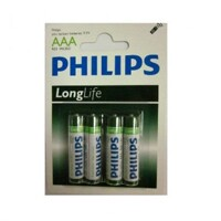 Pin Kẽm AAA Philips R03L4B