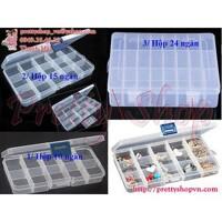 GD033.10 hộp nhựa đựng trang sức 10 ngăn - GD033.10