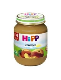 Dinh dưỡng đóng lọ HiPP đào tây 125g