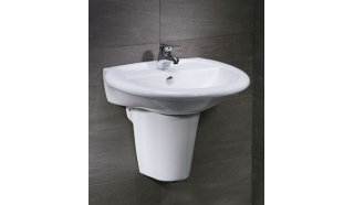 Chậu rửa chân lửng Caesar L2360 + P2439
