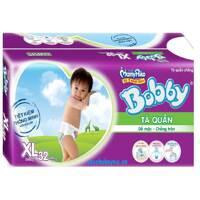 Tã quần Bobby XL32 (dành cho trẻ từ 12-17kg)