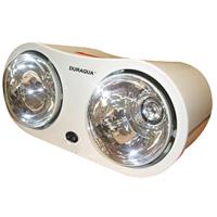 Đèn sưởi nhà tắm Duraqua DBA1C - 2 bóng