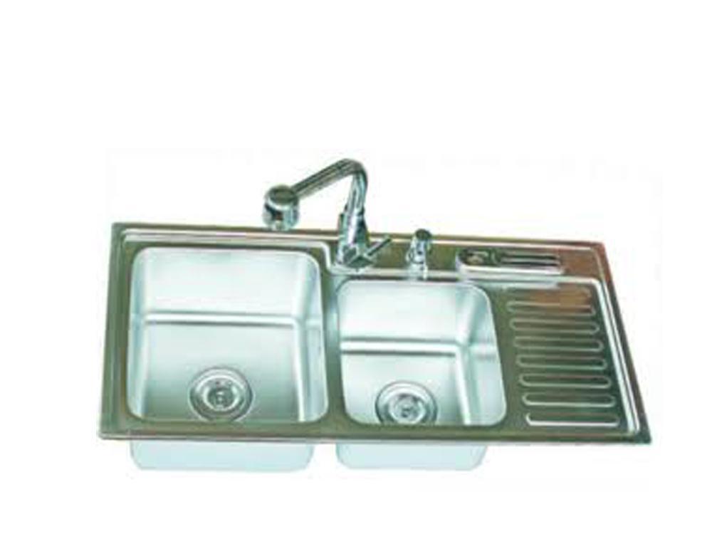 Chậu rửa bát inox AMTS 9245A (9245-A)