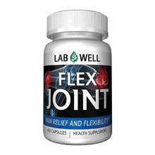 Viên uống giảm đau và điều trị khớp Lab Well Flex Joint 60 viên