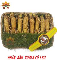 Nhân Sâm Tươi Hàn Quốc 8 củ/kg