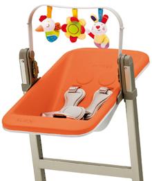 Nôi gắn ghế ăn BREVI SLEX EVO BRE223 - màu 262/ 234