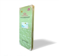 Đệm bông ép vỏ gấm Sông Hồng 180 x 200 x 5 cm