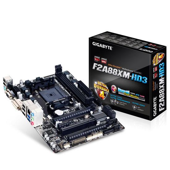 Bo mạch chủ (Mainboard) Gigabyte GA-F2A88XM-HD3 (1.0) - Socket FM2, AM...