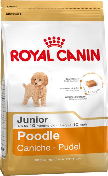 Thức ăn cho chó Royal Canin Poodle Junior - 1.5kg, dành riêng cho Pood...