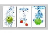 Trái Cây Đùa Giỡn Với Nước
