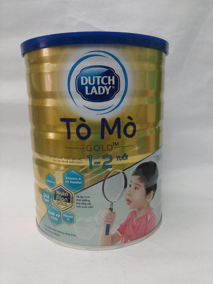 Sữa bột Dutch Lady Cô gái Hà Lan Tò Mò Gold - hộp 900g (1 đến 2 tuổi) ...