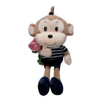 Khỉ bông cầm hoa Kotanzi (35 x 18cm)