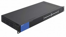 Thiết bị chia mạng Switch Linksys LGS124, 24-Port