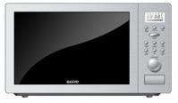 Lò vi sóng Sanyo EMSL60C (EM-SL60C) - 25 lít, 800W (có nướng)