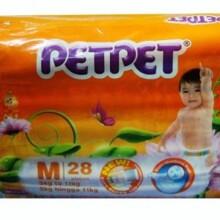 Tã giấy Petpet M28 (dành cho trẻ từ 5-11kg)