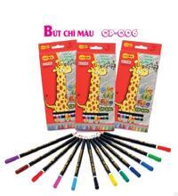 Bút chì màu Thiên Long CP-C06 (12 màu)