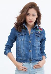 Áo khoác jean nữ TITISHOP NT229616