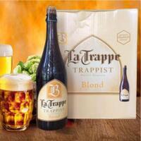 Qùa tặng Bia La Trappe Blond 6,5% – Chai 750ml – Thùng 6 Chai