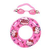 Bộ phao tròn và kính bơi Mesuca Hello Kitty H702037
