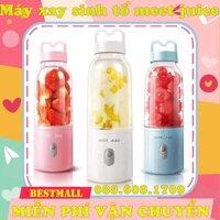 [ Hàng Hot ][BH 6 tháng]Máy xay sinh tố mini Meet Juice 500ml đa năng - Máy xay sinh tố Meet Juice máy xay sinh to mini may say sinh to nhỏ gọn.
