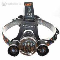 Đèn led đeo đầu 3 đèn high power headlamp